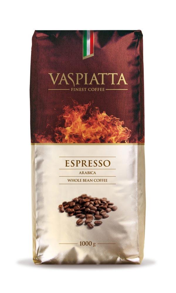 VASPIATTA espresso, projekt DIFERENTE